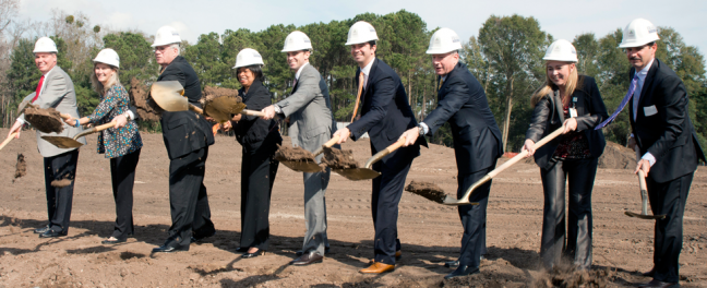 Bluffton Medical Campus Ground Breaking
