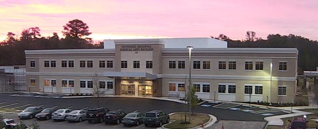 Completion Southside Regional Medical Arts Pavilion