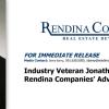 Jon Satter Joins Rendina Advisory Board