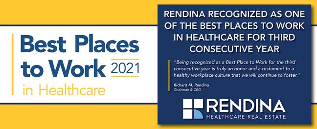 RendinaHRE  Modern Healthcare BPTWH 2021 Banner Website V4
